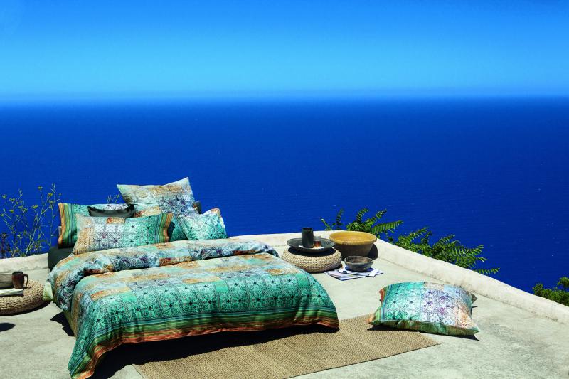 spendi bene magazine bassetti granfoulard collection pe 2017 mediterraneo a filicudi. Black Bedroom Furniture Sets. Home Design Ideas