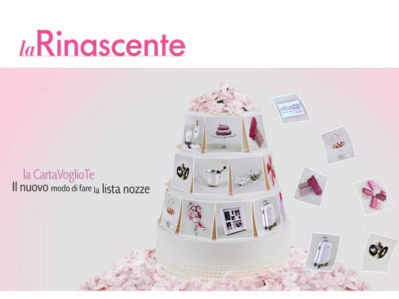 La Lista Nozze Protagonisti I Futuri Sposi : Spendi bene magazine lista nozze alla rinascente i
