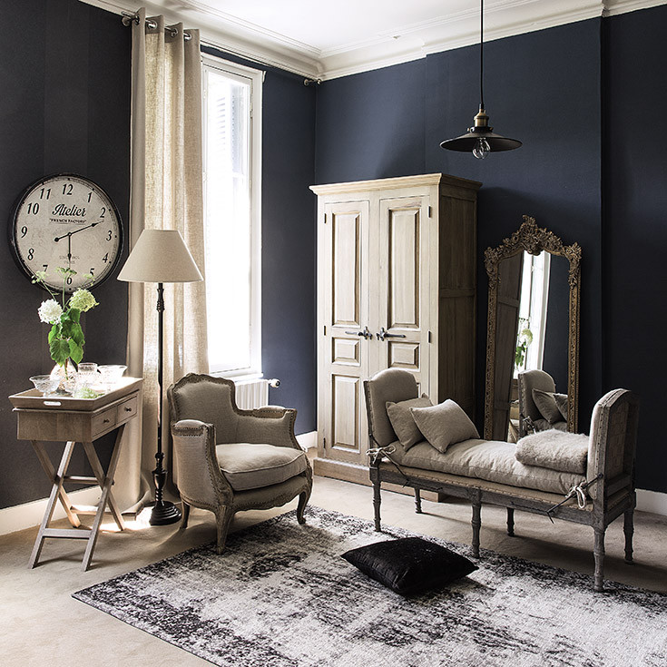 spendi bene magazine maisons du monde tendenza illuminismo. Black Bedroom Furniture Sets. Home Design Ideas