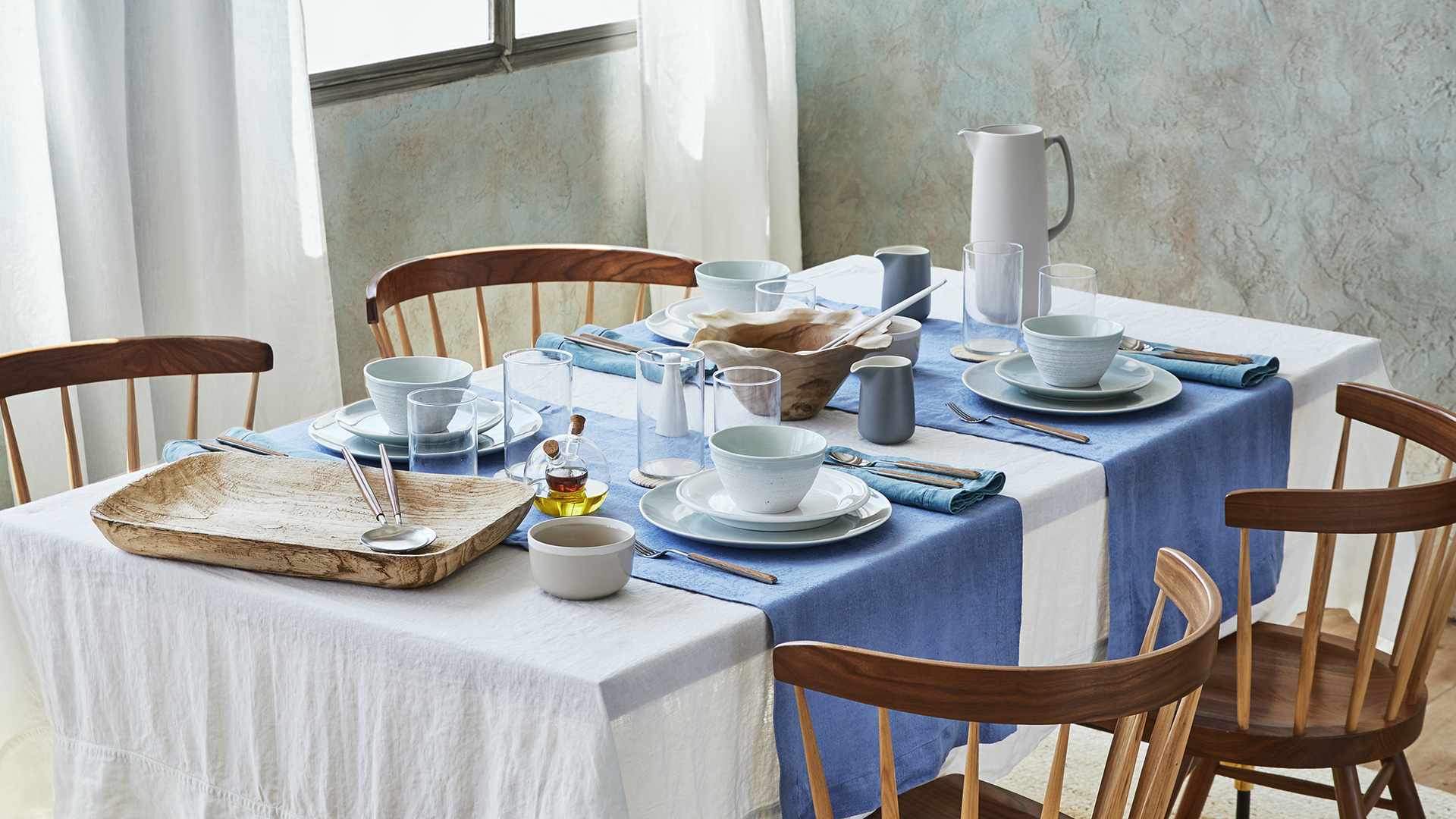 Spendi bene magazine artisanal blue di zara home for Cuscini arredo zara home